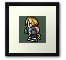 Zidane Tribal sprite - FFRK - Final Fantasy IX (FF9) Framed Print