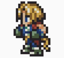 Zidane Tribal sprite - FFRK - Final Fantasy IX (FF9) One Piece - Short Sleeve
