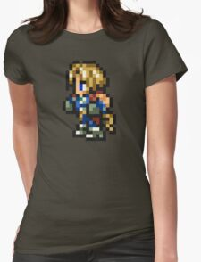 Zidane Tribal sprite - FFRK - Final Fantasy IX (FF9) Womens Fitted T-Shirt