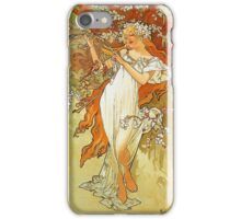 Alphonse Mucha - Spring iPhone Case/Skin