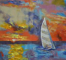 Sailboat by Michael Creese