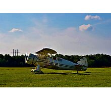 Bi-Plane in Service Photographic Print