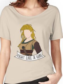 Fight Like Lagertha Women's Relaxed Fit T-Shirt