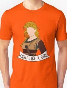 Fight Like Lagertha Unisex T-Shirt