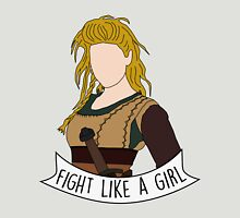 Fight Like Lagertha Womens Fitted T-Shirt