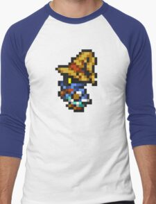 Vivi Ornitier sprite - FFRK - Final Fantasy IX (FF9) Men's Baseball ¾ T-Shirt
