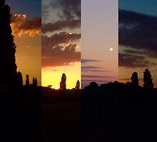 manipulated sunset  by dombebbington