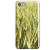 Spring green cereal plants iPhone Case/Skin