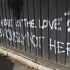 where is the love? by Kassie Yates