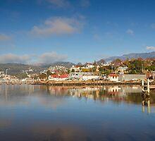 Slipways and Jetties, Battery Point, Tasmania by Chris Cobern