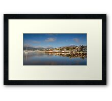 Slipways and Jetties, Battery Point, Tasmania Framed Print