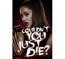 Ariana \ Scream Queens Photographic Print