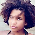 Her wild hair...will mislead you... by Marny Barnes