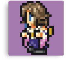 Yuna sprite - FFRK - Final Fantasy X (FF10) Canvas Print