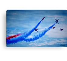 Red Arrows - A Tribute Canvas Print