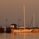 Portarlington Pier, Sunset by Joe Mortelliti