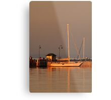 Portarlington Pier, Sunset Metal Print