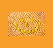 Happy smiling face of Wasabi rice crackers Unisex T-Shirt
