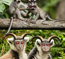 Primate Evils by GolemAura