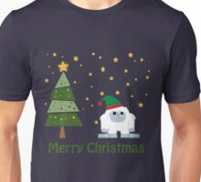Merry Christmas Yeti Unisex T-Shirt