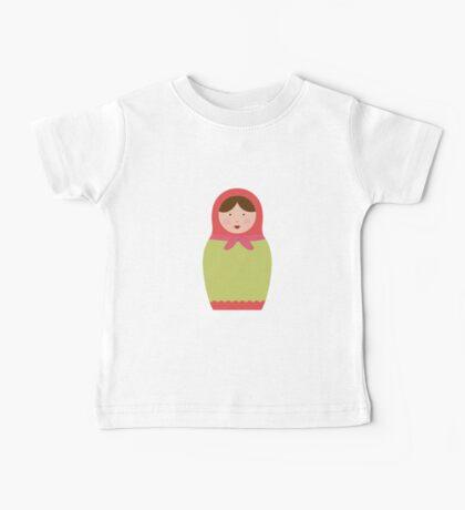 Matryoshka Doll #2 Baby Tee