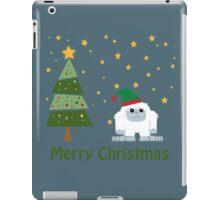 Merry Christmas Yeti iPad Case/Skin