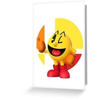 I Main Pac-Man Greeting Card