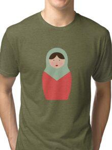 Matryoshka Doll #4 Tri-blend T-Shirt