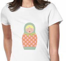 Matryoshka Doll #5 Womens Fitted T-Shirt