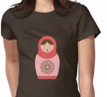 Matryoshka Doll #6 Womens Fitted T-Shirt