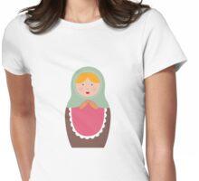 Matryoshka Doll #7 Womens Fitted T-Shirt