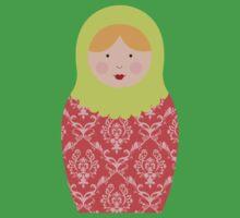 Matryoshka Doll #8 Kids Tee