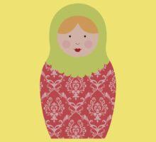 Matryoshka Doll #8 Baby Tee