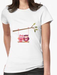 Love Owls on Tree Branch T-Shirt