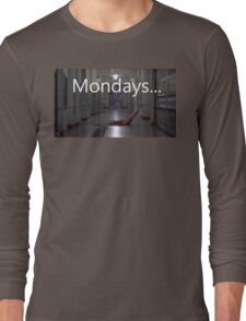 Freddy hates mondays. Long Sleeve T-Shirt