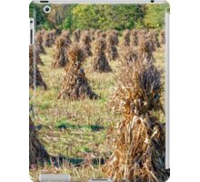 corn stalk stacks iPad Case/Skin