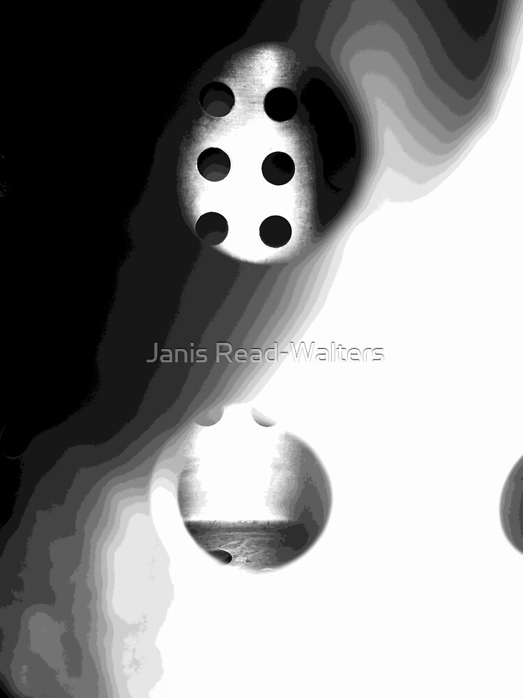 abstract black and white by Janis Read-Walters