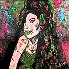 Amy Winehouse - original art by LeahG by Leah G