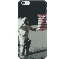 Apollo 11 - Salute the flag iPhone Case/Skin