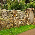 Wall Art on Waiheke by TonyCrehan