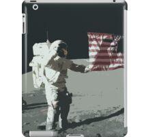 Apollo 11 - Salute the flag iPad Case/Skin