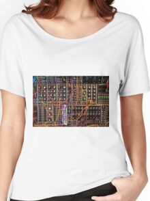 Moog Modular Synthesizer Control Panel Women's Relaxed Fit T-Shirt