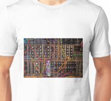 Moog Modular Synthesizer Control Panel Unisex T-Shirt