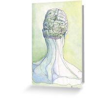 """""""Il Cervello Verde"""" Greeting Card"""