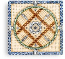 Ornament in Greek style Canvas Print