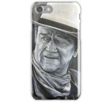 John Wayne (oil painting) iPhone Case/Skin