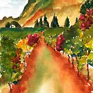 September Vineyard by Sally Griffin