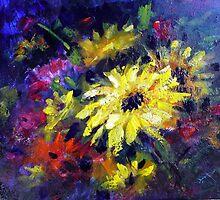 Floral medley by Ivana Pinaffo