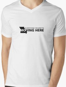 Apathetic State Advertising - Missouri Mens V-Neck T-Shirt