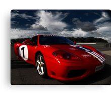 Ferrari 360 Racing Red.  Canvas Print